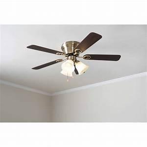 Reasons to install low profile ceiling fan light kit