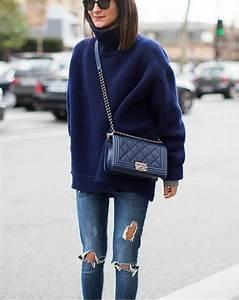 Jean Bleu Troué Femme : le jean d chir port par les stars en 56 photos ~ Melissatoandfro.com Idées de Décoration