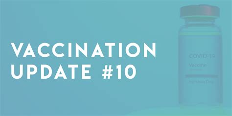 New COVID-19 Vaccine Update #10: More Age Groups Now ...