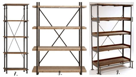 Beautiful (& Affordable) Modern Industrial Shelving Options