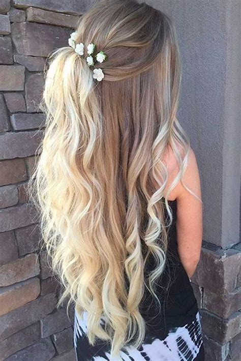 Pretty Homecoming Hairstyles by 25 Unique Homecoming Hairstyles Ideas On Hair