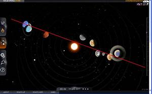 Solar System Alignment Simulator (page 4) - Pics about space
