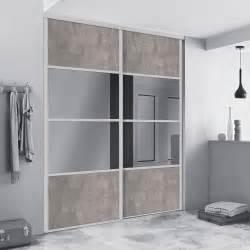Porte Coulissante Miroir Sur Mesure : porte de placard coulissante sur mesure spaceo alliance de ~ Premium-room.com Idées de Décoration