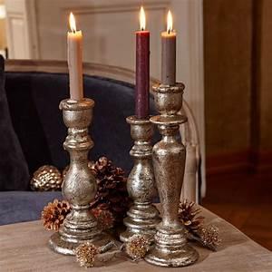 Kerzenständer 3er Set : kerzenst nder 3er set rivolet loberon ~ Watch28wear.com Haus und Dekorationen