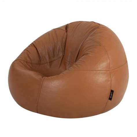 buy real leather bean bags panelled xl bean bag bean