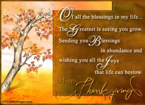 sending you thanksgiving blessings free family ecards greeting cards 123 greetings