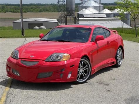 Hyundai Tiburon Kit by 2004 Hyundai Tiburon Pictures With Kit