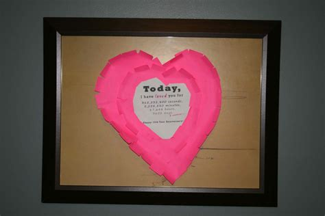 :: Today I have loved you for :: Handmade Valentine