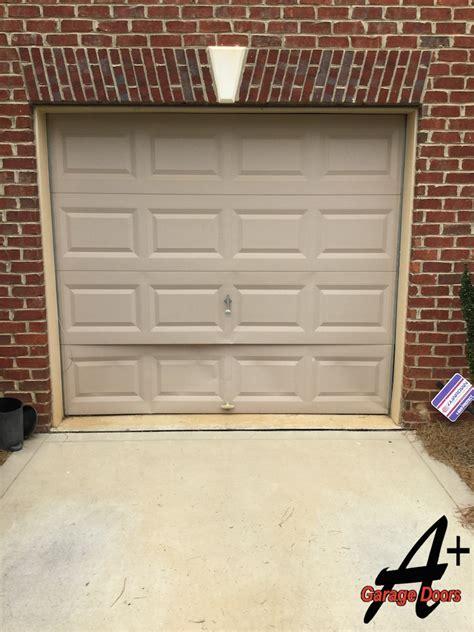 charlotte garage door repair  door hit  car residential