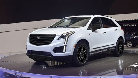 white cadillac xt midnight edition rendered gm authority