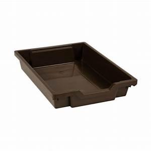 Tiroir Plastique Empilable : tiroir plastique brun h 7cm montessori spirit ~ Edinachiropracticcenter.com Idées de Décoration