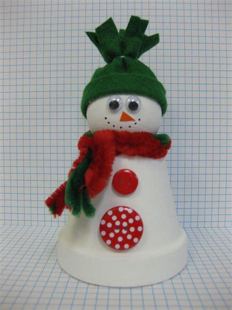 flower pot snowman fun holiday activities  kids