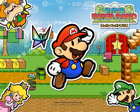 Super Paper Mario The Inverse Look