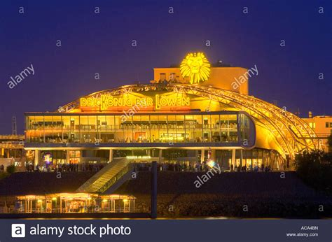 Theater im Hafen, venue of the musical The Lion King, at