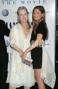 Actress Meryl Streep and daughter Louisa Gummer attend the ...