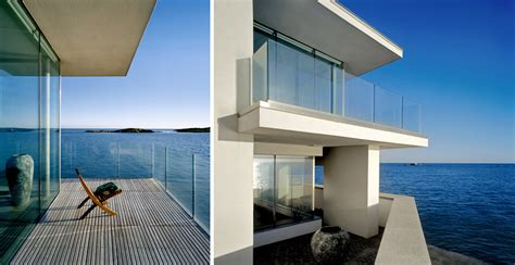 modern house bounded by the sea by de blacam and meagher digsdigs