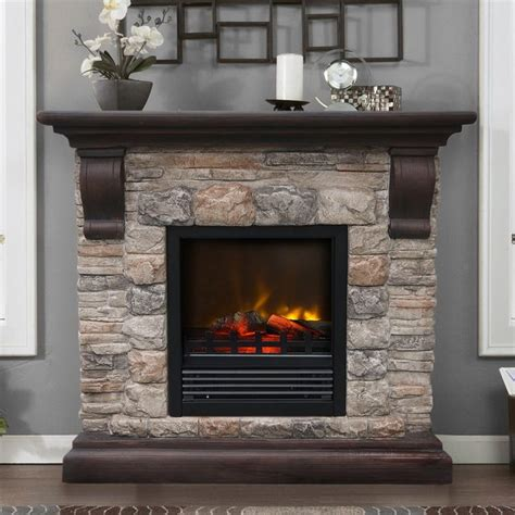 rustic electric fireplace electric fireplace for modern rustic home designs