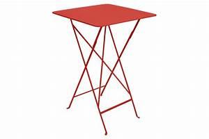 Table Haute Bistro FERMOB Métal 71x 71 cm Latour Mobilier de jardin