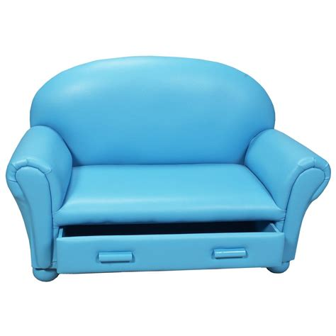 drawer chaise childrens sofa with storage drawer upholstered