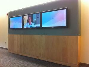 Corporate Solutions - Mid State Medical Center 3x1 Video Wall In Meriden   Ct