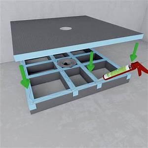 Bac A Douche Wedi : unterbausystem ~ Dode.kayakingforconservation.com Idées de Décoration