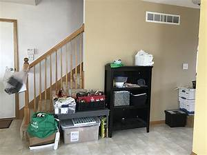 Our, Modern, Navy, Small, Entryway, Makeover