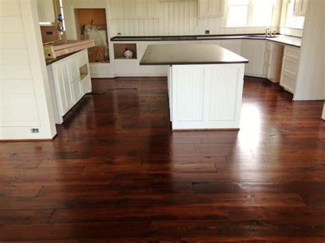 Elegant Reclaimed Kitchen Flooring   Old Texas Wood