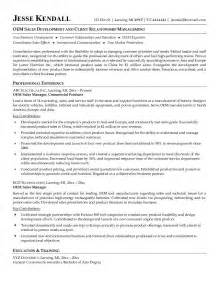 regional sales manager resume sle 28 images auto