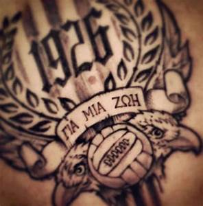 PAOK tattoo   P... Paok Quotes