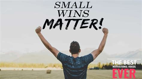 Why Small Wins Matters - YouTube