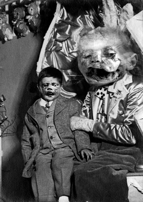 Scary Ventriloquist Dummies ~ Damn Cool Pictures