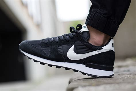 nike internationalist black white neutral grey sneaker