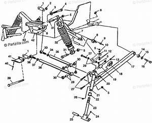 Polaris Snowmobile 1998 Oem Parts Diagram For Front