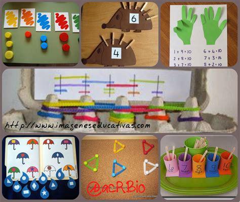 Actividades Matemáticas Collage  Imagenes Educativas