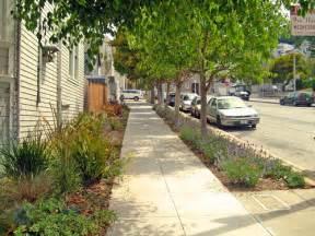 Landscaping Between Sidewalk and Street