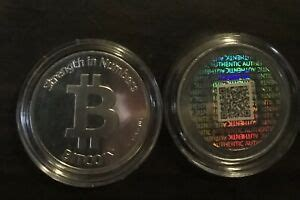 Wallet applications downloaded to your phone, computer or tablet. Casascius Physical Bitcoin Wallet Coin | eBay