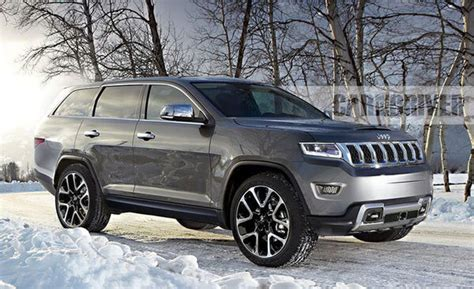 2020 Jeep Grand Cherokee Redesign, Wagoneer, Review