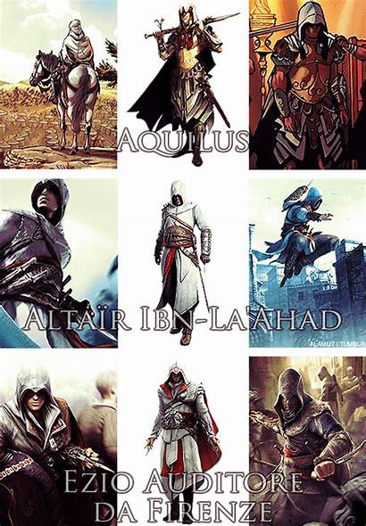 Creed Assassin Ezio Altair Aveline Ac Aquilus