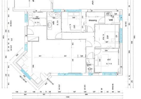 pin plan maison plain pied city construction en on