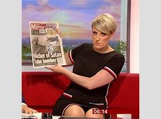 BBC's Steph McGovern accidently 'flashes' underwear on air