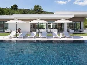 Maison Architecte Plain Pied : maison d 39 architecte une villa moderne aux vues traversantes video ~ Melissatoandfro.com Idées de Décoration