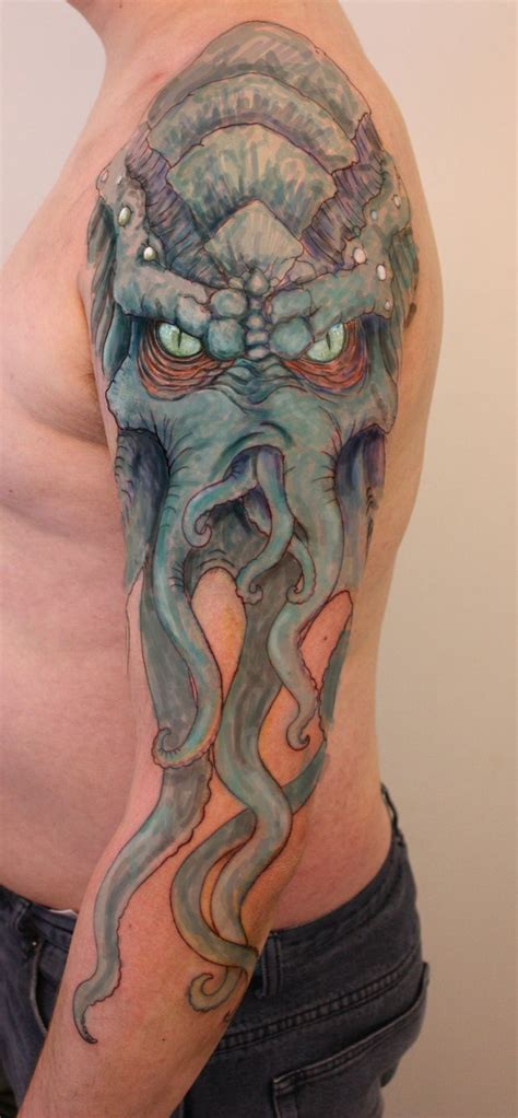 Best Cthulhu Tattoo Images Pinterest Tentacle