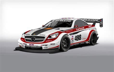 Mercedes BenzCar : Carlsson Mercedes-benz Slk Race Car