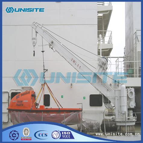 Boat Davit Manufacturers by China Boat Davit Steel Cranes Manufacturers