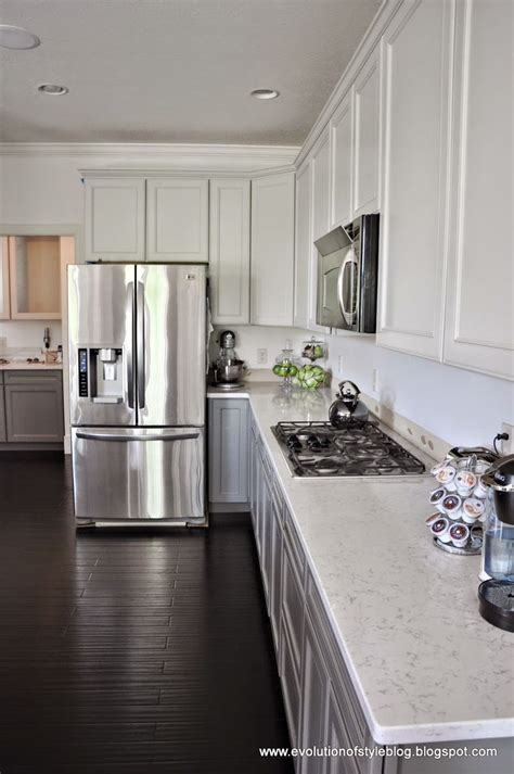 repose gray cabinets a two toned client kitchen an announcement gauntlet 226