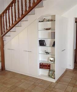 Amenager Sous Escalier : am nagement sous escalier sur mesure en l pour faciliter ~ Voncanada.com Idées de Décoration