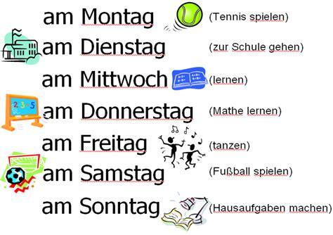 vocabulary year 8 german