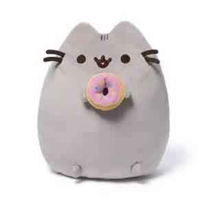 pusheen the cat plush pusheen the cat with donut plush gund pusheen plush