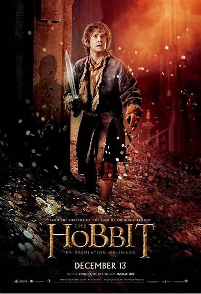 Posters Smaug Desolation Stills Hobbit Five Bilbo