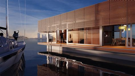 Houseboat Dubai by Waterlovt Houseboat Offers Luxury Floating Homes